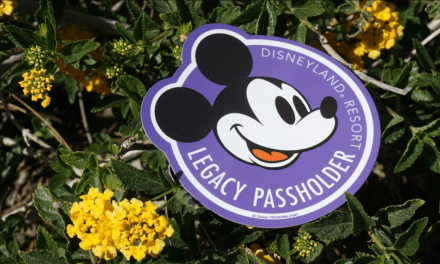 Special extras will be available for Legacy Passholders during A TOUCH OF DISNEY events