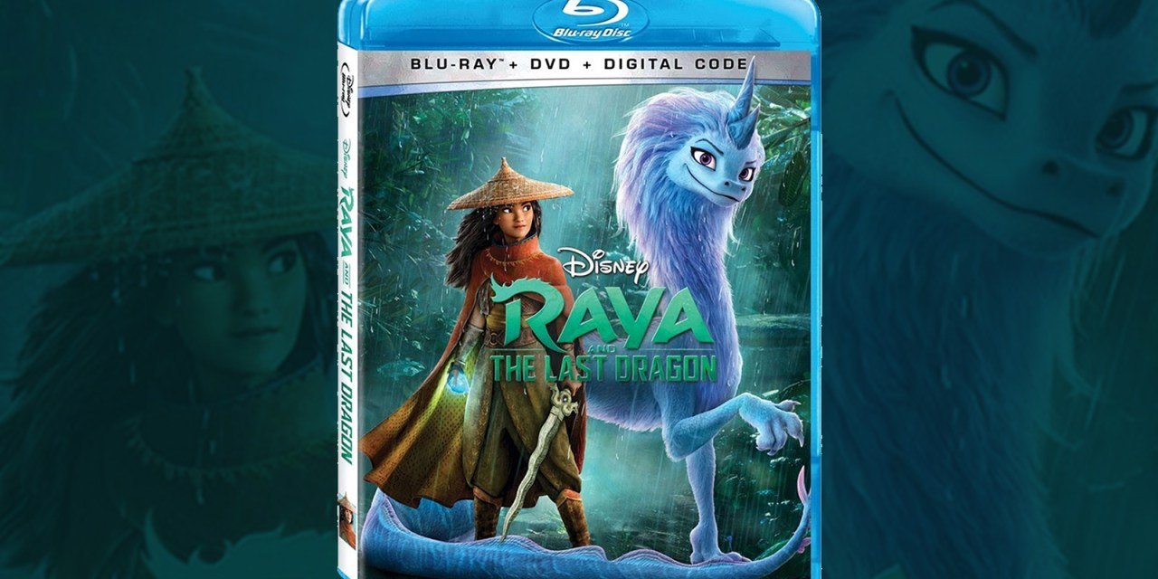 RAYA AND THE LAST DRAGON available to own on digital Apr. 2, physical May 18