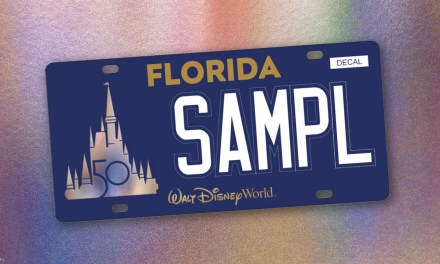 Walt Disney World unveils first-ever custom Florida state license plate collaboration