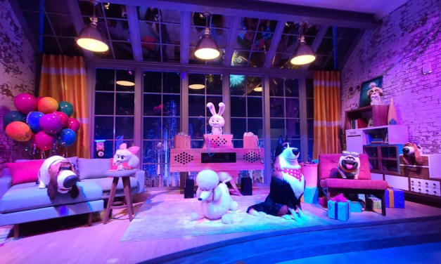 COMPLETE LOOK: Universal Studios Hollywood's new SECRET LIFE OF PETS: OFF THE LEASH! attraction