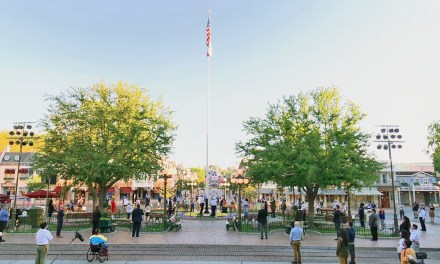 WATCH: Disneyland Reopening Day Flag Raising Ceremony commemorated by Bob Chapek