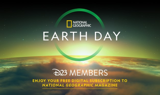 D23 PERK: All members have access to 3-month free trial digital subscription to NATIONAL GEOGRAPHIC