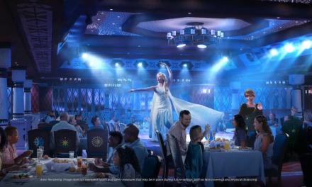 DISNEY WISH cruise ship unveils three new family dining restaurants