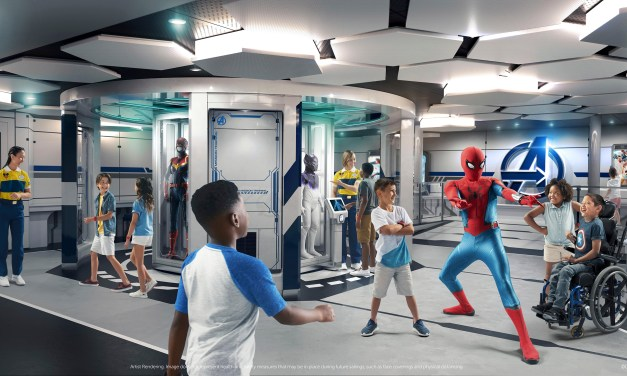 DISNEY WISH cruise ship unveils details for kid-exclusive experiences including Marvel, Princess, and Imagineering!