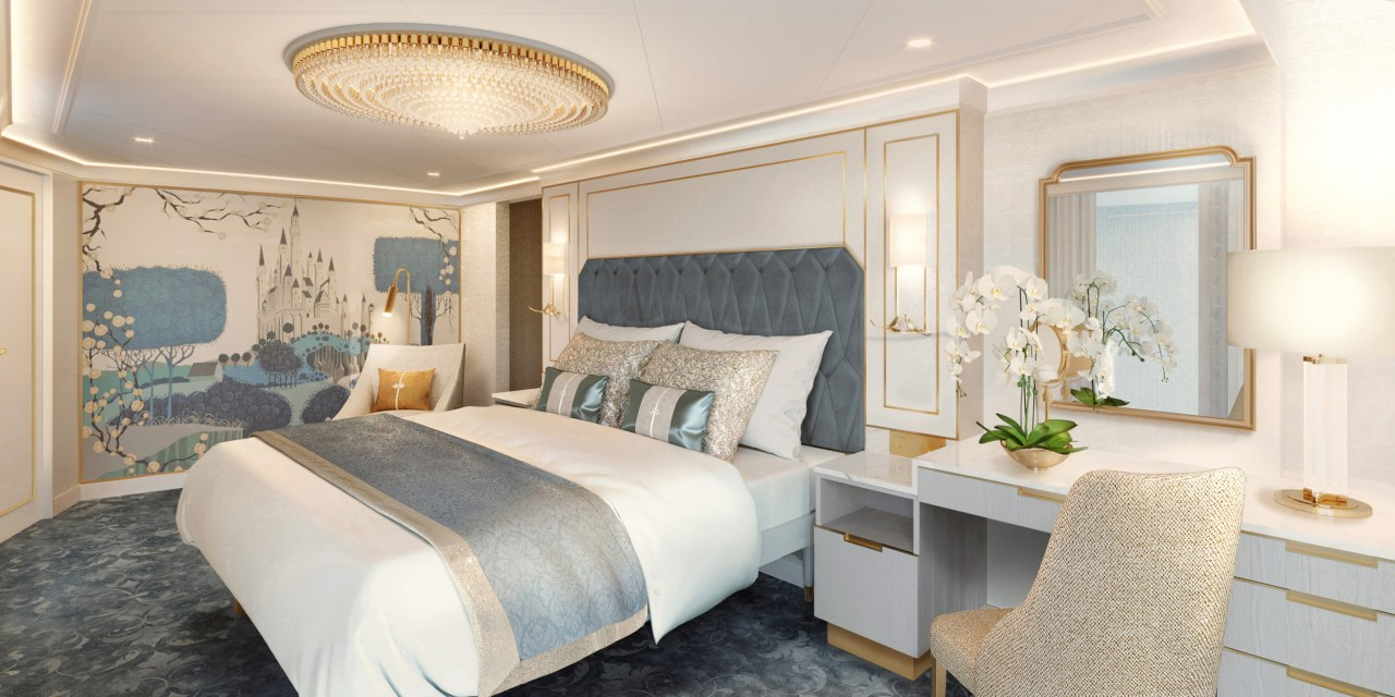 FIRST PEEK: New DISNEY WISH staterooms and 2-story suites add enchantment to Disney Cruise Line