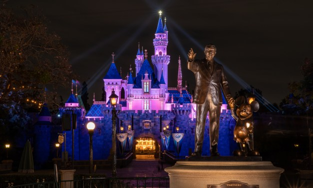 I'm not crying, you're crying — Disneyland symbolically lights Sleeping Beauty Castle ahead of official #DisneylandReopening