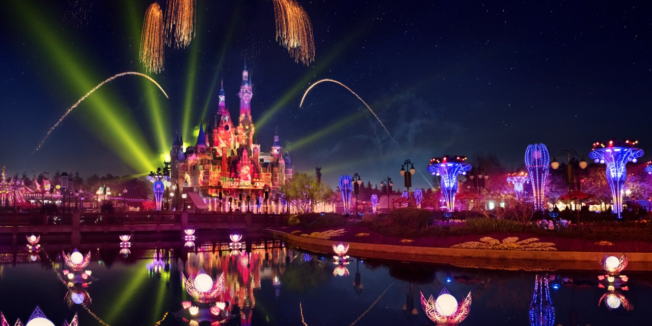 SNEAK PEEK: Stunning new ILLUMINATE! show lights the night for Shanghai Disney's 5th Anniversary
