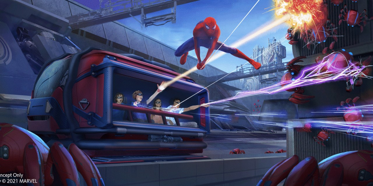 STEP-BY-STEP: How to secure Virtual Queue access for 'WEB SLINGERS: A Spider-Man Adventure' attraction at AVENGERS CAMPUS