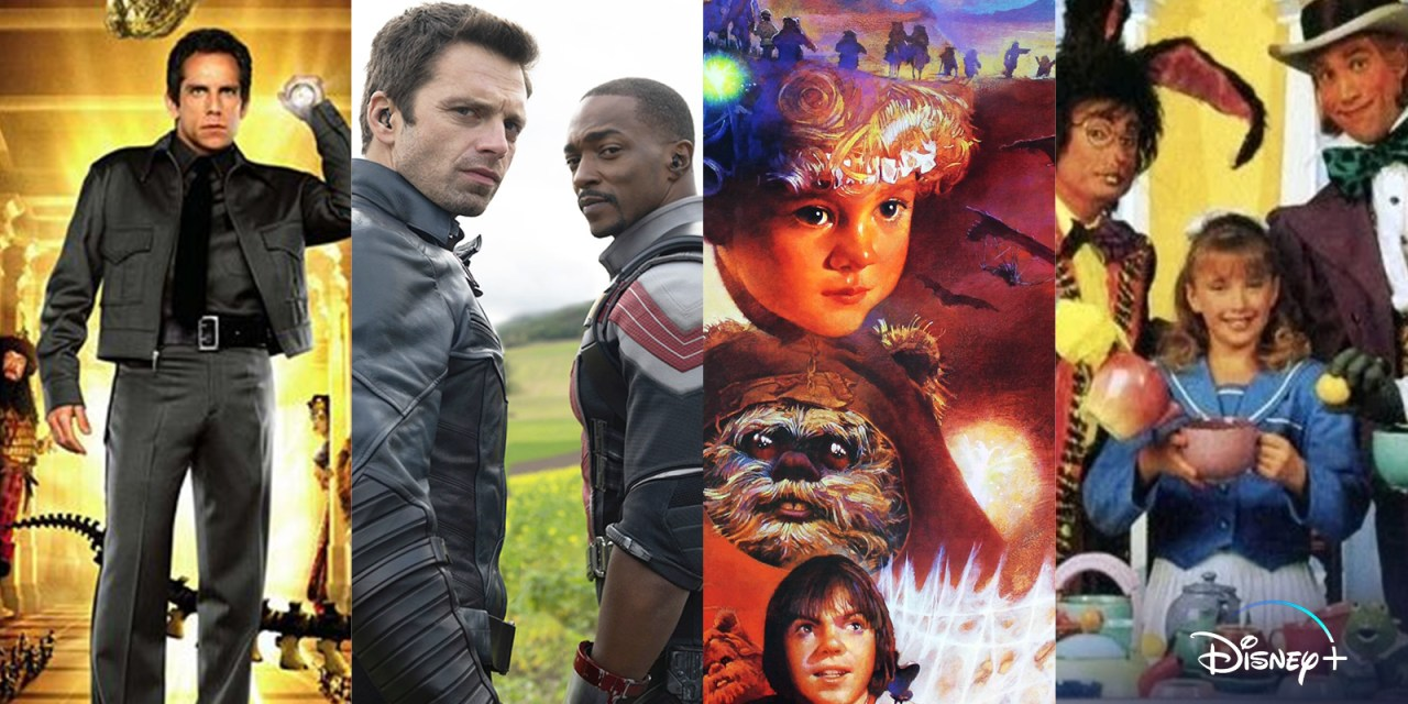 WHAT'S NEW (April 2021) – More movies, series, seasons, and original programming coming to #DisneyPlus