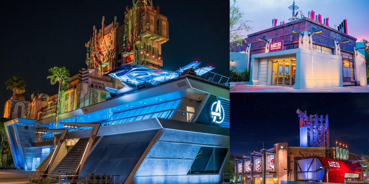 PEEK INSIDE: Disneyland Resort AVENGERS CAMPUS Marvel-themed land set to open June 4, 2021