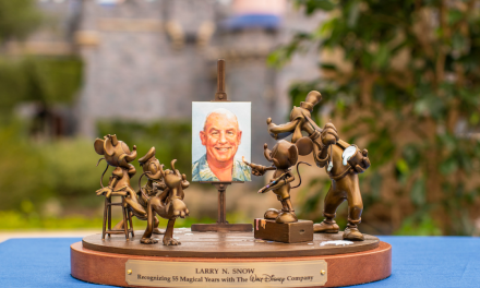 Disney unveils 55th anniversary Cast Member service award statue, celebrates those making magic for more than five decades
