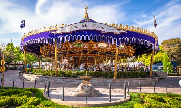 Disneyland confirms new look for KING ARTHUR CARROUSEL canopy