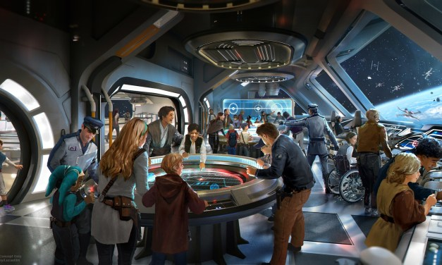 A female Captain and fancy new droids are just some of what's expected aboard the STAR WARS: GALACTIC CRUISER