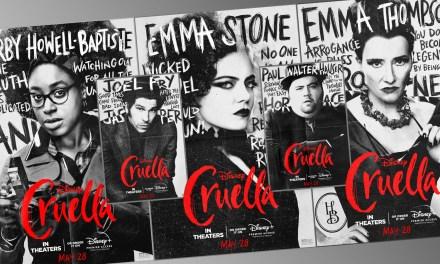 CREULLA debuts new character posters, Emma Stone featurette