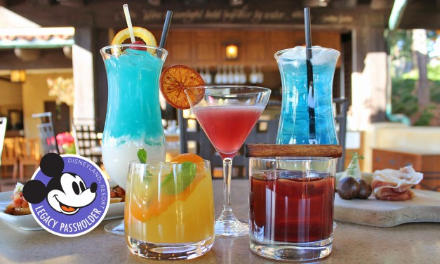 Updated menu brings more park-inspired noshables, sippables to Legacy Passholder-exclusive Alfresco Tasting Terrace