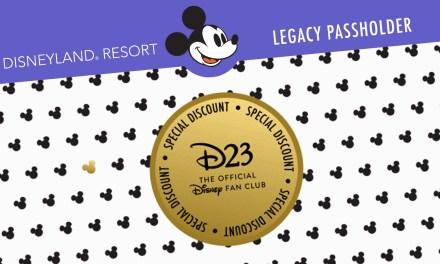 LEGACY PERK: Discount on NEW D23 Gold Membership + free Disneyland Resort Gift Pack