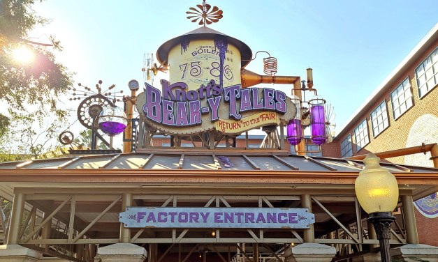 STEP INSIDE! New 'Knott's Bear-y Tales: Return to the Fair' attraction is now officially open!