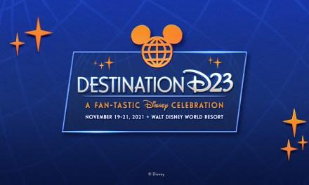 D23 EVENT: 2021 'Destination D23' coming Nov. 19 – 21 to Walt Disney World