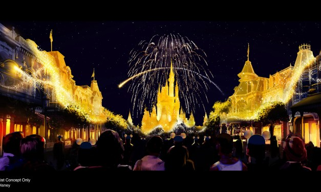 CONCEPT ART: New ENCHANTMENT nighttime spectacular will bring the night to life at Magic Kingdom | #WDW50
