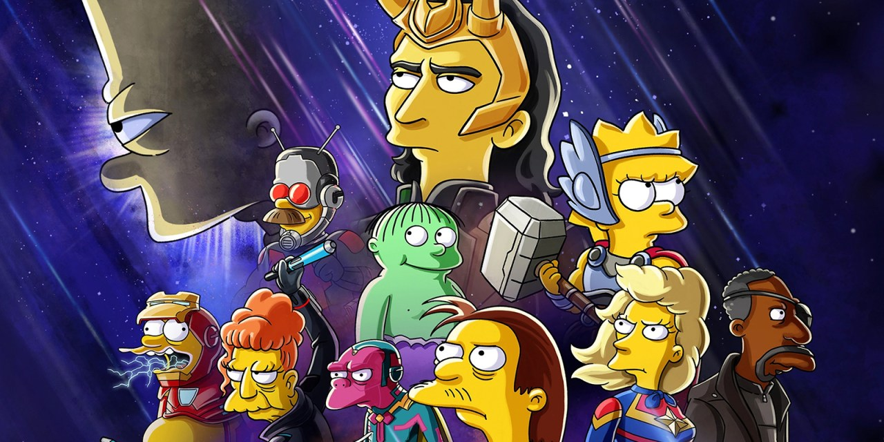 THE SIMPSONS animated short THE GOOD, THE BART, AND THE LOKI coming July 7 to #DisneyPlus