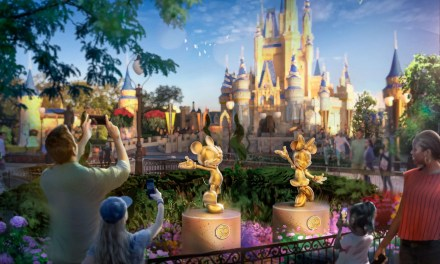 Fifty interactive golden statues will debut across all four Walt Disney World theme parks | #WDW50