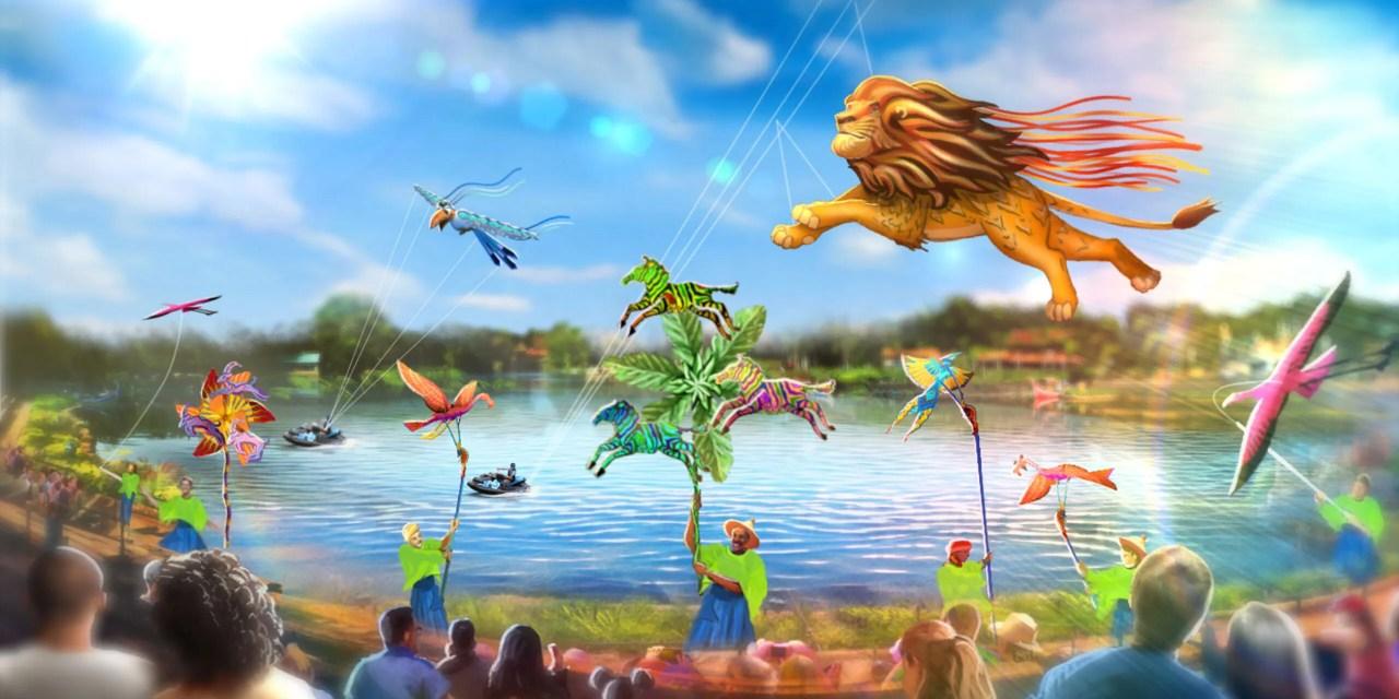 CONCEPT ART: New 'Disney KiteTails' show will bring festive sights high above Disney's Animal Kingdom | #WDW50