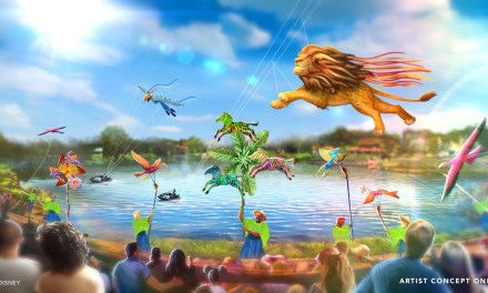 CONCEPT ART: New 'Disney KiteTails' show will bring festive sights high above Disney's Animal Kingdom   #WDW50