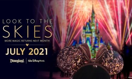 Disney Parks confirm fireworks spectaculars returning July 2021