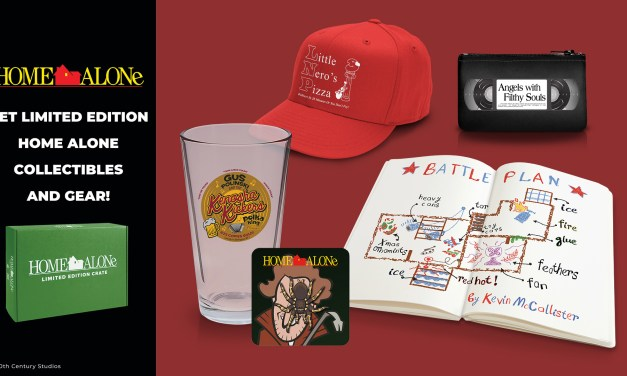 Loot Crate HOME ALONE collection wishes you a merry Christmas, ya filthy animal