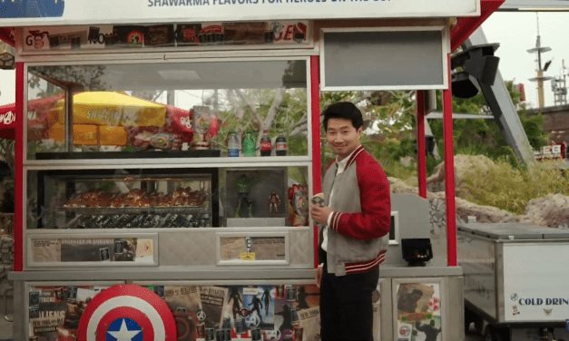 Simu Liu makes 'end-credit' cameo at the end of AVENGERS CAMPUS grand opening ceremony hinting at SHANG-CHI additions