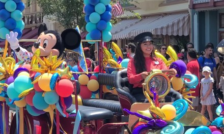 """WATCH: Disneyland commemorates 66th anniversary with """"Happy Birthday"""" moment and character cavalcade"""