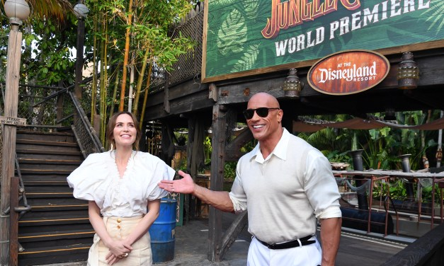 PICTORIAL: Disneyland's in-park World Premiere of JUNGLE CRUISE with Dwayne Johnson, Emily Blunt, and more!