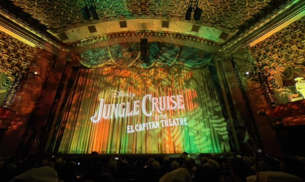PICTORIAL: Inside the D23 Opening Night fan event for JUNGLE CRUISE at the El Capitan Theatre!