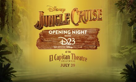 D23 EVENT: JUNGLE CRUISE opening night fan screening at El Capitan Theatre in Hollywood includes a Skipper Hat!
