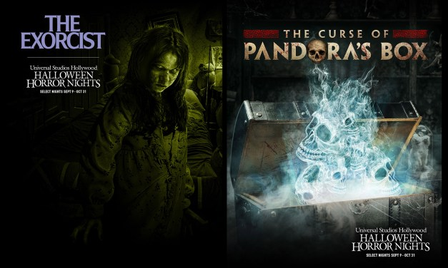 The Curse of Pandora's Box and THE EXORCIST both returning for Universal Hollywood Halloween Horror Nights