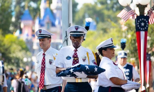 US Disney Parks resume flag retreat ceremonies