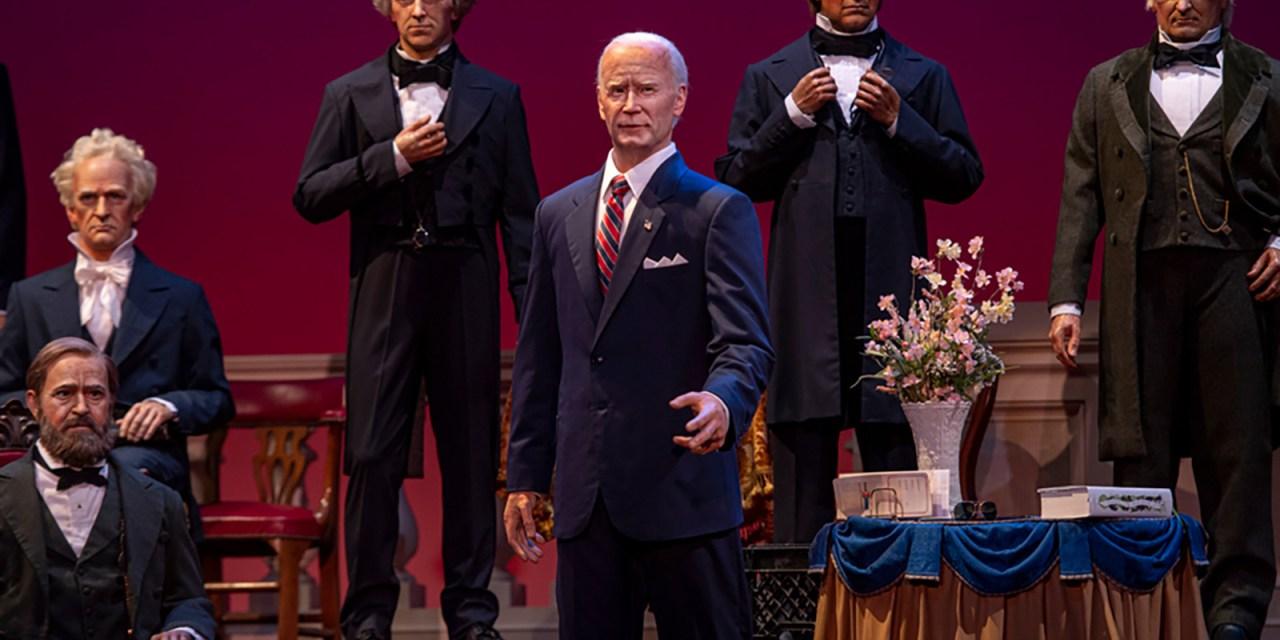 Disney unveils Joe Biden Audio-Animatronics replica for Walt Disney World Hall of Presidents