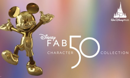 WATCH: Voice of Mickey, Bret Iwan reveals first of 'Disney Fab 50' series golden statues | #WDW50