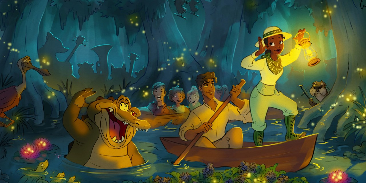 New details and concept art for 'Princess and the Frog' attraction makeover of Splash Mountain