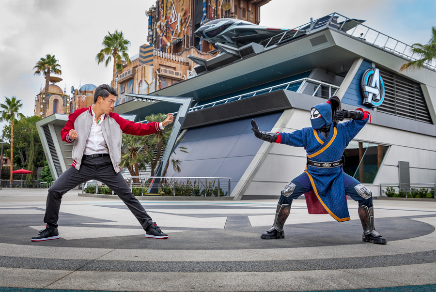 Shang-Chi character comes to AVENGERS CAMPUS at Disney California Adventure