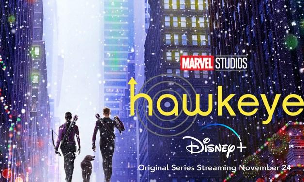 WATCH: HAWKEYE ready for Thanksgiving debut on Weds. Nov. 24 on #DisneyPlus