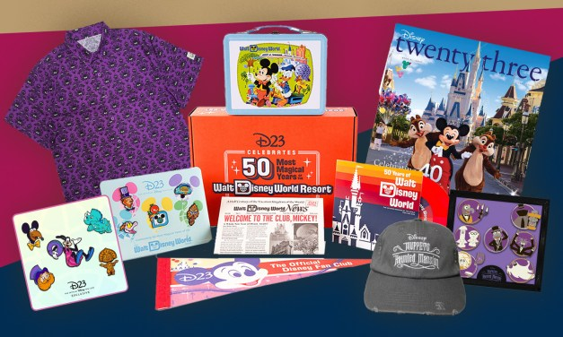 D23 PERK: Special member-exclusive merch (including magazine reissues) available for limited time!
